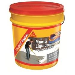 Manta Liquida Cinza Rapido Sikafill 3 600ml